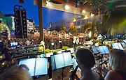Nederland, Nijmegen, 17-7-2016' Gevelconcert ' op de grote markt tijdens de zomerfeestenFoto: Flip Franssen