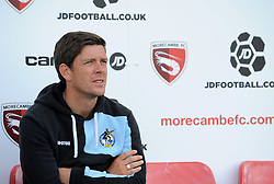 Bristol Rovers Manager Darrell Clarke - Mandatory byline: Neil Brookman/JMP - 07966 386802 - 03/10/2015 - FOOTBALL - Globe Arena - Morecambe, England - Morecambe FC v Bristol Rovers - Sky Bet League Two