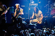 Andrew W.K. performs with a full band for the first time in 5 years at The Fillmore at Irving Plaza, New York City. March 16, 2010. Copyright © 2010 Chris Owyoung. All Rights Reserved.