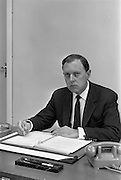 19/09/1963<br /> 09/19/1963<br /> 19 September 1963<br /> Mr. C.D. Cooke, at his desk at I.C.T. Adelaide Road, Dublin.