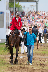 iWathelet Gregory, (BEL), Conrad de Hus<br /> Individual Final Competition round <br /> FEI European Championships - Aachen 2015<br /> © Hippo Foto - Jon Stroud© Hippo Foto - Leanjo de Koster23/08/15