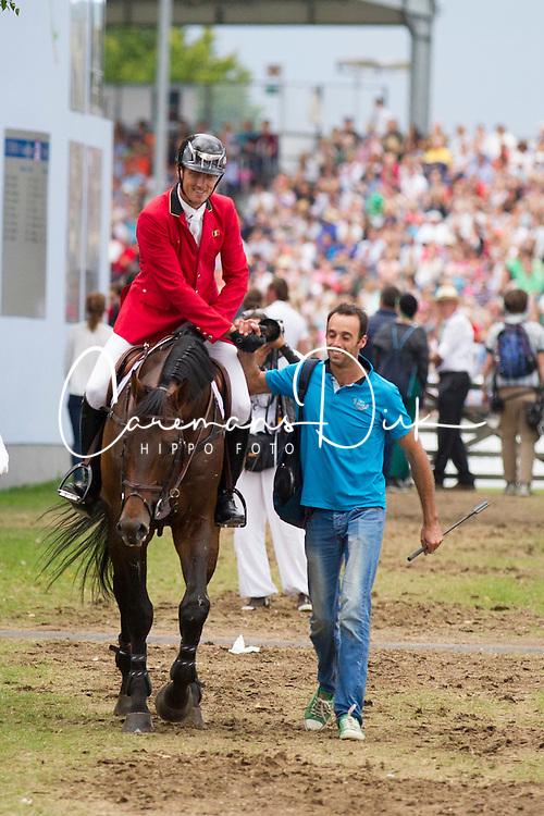 iWathelet Gregory, (BEL), Conrad de Hus<br /> Individual Final Competition round <br /> FEI European Championships - Aachen 2015<br /> © Hippo Foto - Jon Stroud© Hippo Foto - Leanjo de Koster23/08/15