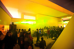 Dissonanze 10 - Ara Pacis - Rome , people and laser live performance Edwin Van Der Heiden