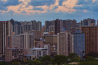 Honolulu Metropolis from Punchbowl Crater