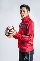 **EXCLUSIVE**Portrait of Chinese soccer player Wu Qing of Chongqing Dangdai Lifan F.C. SWM Team for the 2018 Chinese Football Association Super League, in Chongqing, China, 27 February 2018.