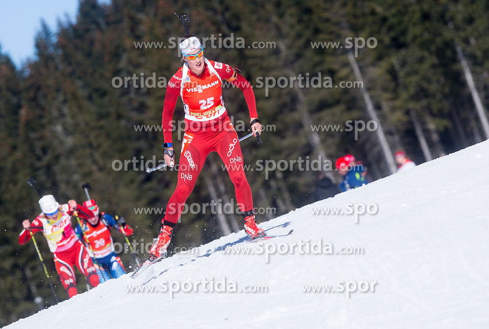 HORN Fanny Welle-Strand of Norway competes during Women 12.5 km Mass Start competition of the e.on IBU Biathlon World Cup on Sunday, March 9, 2014 in Pokljuka, Slovenia. Photo by Vid Ponikvar / Sportida