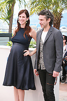 Leonardo Sbaraglia and Maria Marull at the photo call for the film Wild Tales (Relatos Salvajes) at the 67th Cannes Film Festival, Saturday 17th May 2014, Cannes, France.