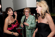 KRISTIN SCOTT THOMAS; LADY ANTONIA PINTER; SONIA FRIEDMAN; , Comedy Theatre First night party for Betrayal by Harold Pinter. National Gallery Cafe. Trafalgar Sq. London. <br /> <br />  , -DO NOT ARCHIVE-© Copyright Photograph by Dafydd Jones. 248 Clapham Rd. London SW9 0PZ. Tel 0207 820 0771. www.dafjones.com.