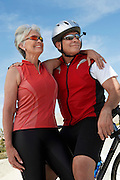 Couple Out for a Bicycle Ride