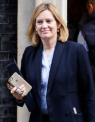 © Licensed to London News Pictures. 30/03/2017. London, UK. Home secretary AMBER RUDD, seen leaving Number 10 Downing Street on March 30, 2017, following a meeting with British Prime minister, Theresa May. Photo credit: Ben Cawthra/LNP