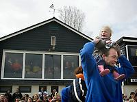 Bloemendaal Dames I Kampioen,. Martijn Verkerk en Jeroen . FOTO KOEN SUYK