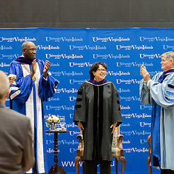 Supreme Court Associate Justice Sonia Sotomayor at the UVI Spring Convocation