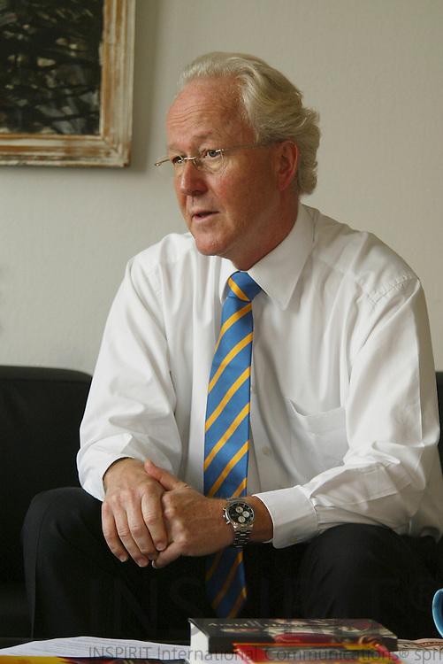 LUXEMBOURG - 27 OCTOBER 2006 -- Lars HEIKENSTEN Swedish Member of the European Court of Auditors in Audit Group II, Structural and internal policies.   PHOTO: ERIK LUNTANG /