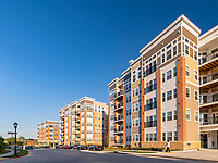 Exterior image of Verde II at Howard Square Apartments in Baltimore MD by Jeffrey Sauers of CPI Productions