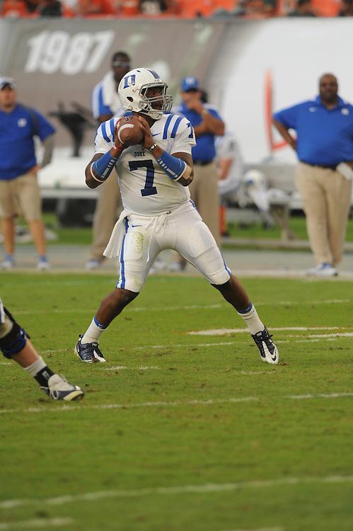 2011 Duke University Football @ Miami