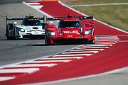 May 4-6, 2017: IMSA Sportscar Showdown at Circuit of the Americas. 31 Whelen Engineering Racing, DPi, Dane Cameron, Eric Curran, 5 Mustang Sampling Racing, DPi, Joao Barbosa, Christian Fittipaldi