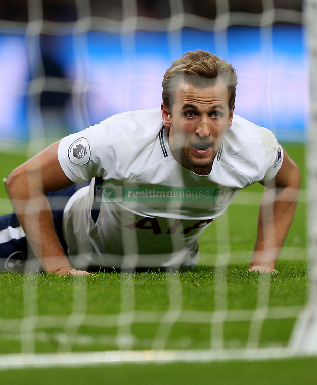 25 November 2017 Wembley : Premier League Football : Tottenham Hotspur v West Bromwich Albion - Harry Kane of Tottenham reflects on a missed opportunity.<br /> (photo by Mark Leech)