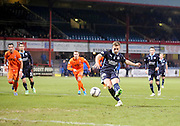 Greg Stewart fires home the penalty which won the match for Dundee -  Dundee v Kilmarnock, SPFL Premiership at Dens Park <br /> <br /> <br />  - &copy; David Young - www.davidyoungphoto.co.uk - email: davidyoungphoto@gmail.com