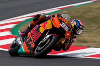 Bradley Smith of Great Britain and RedBull KTM Factory Team rides during free practice for the MotoGP of Catalunya at Circuit de Catalunya on June 9, 2017 in Montmelo, Spain.(ALTERPHOTOS/Rodrigo Jimenez)