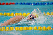 Belo Horizonte_MG, Brasil...Copa do Mundo de Natacao 2007. Na foto a nadadora Josephin Lillhage, da Suecia, vencedora da prova 200m Livre Feminino...Swimming World Cup 2007. In this photo the swimmer Josephin Lilhage, of Sweden, She is the champion in the 200m freestyle, in Belo Horizonte...Foto: LEO DRUMOND / NITRO