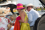RUTH THOMPSON; DAVID LOWE, , Glorious Goodwood. Thursday.  Sussex. 3 August 2013
