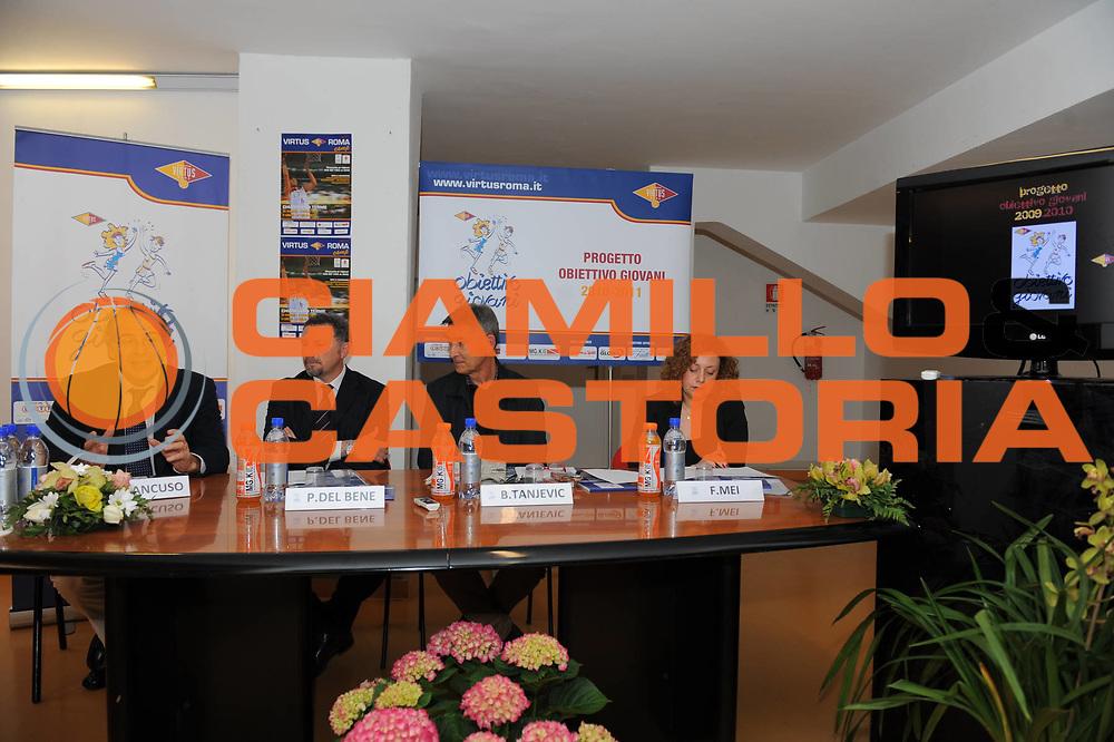 DESCRIZIONE : Roma Lega A 2010-11 Presentazione Conferenza Stampa Corso di Formazione Obiettivo Giovani Lottomatica Virtus Roma <br /> GIOCATORE : Mancuso Paolo Del Bene Boscia Tanjevic Francesca Mei<br /> SQUADRA : <br /> EVENTO : Campionato Lega A 2010-2011 <br /> GARA : <br /> DATA : 04/04/2011<br /> CATEGORIA : Ritratto<br /> SPORT : Pallacanestro <br /> AUTORE : Agenzia Ciamillo-Castoria/GiulioCiamillo<br /> Galleria : Lega Basket A 2010-2011 <br /> Fotonotizia : Roma Campionato Italiano Lega A 2010-2011 Presentazione Conferenza Stampa Corso di Formazione Obiettivo Giovani Lottomatica Virtus Roma<br /> Predefinita :