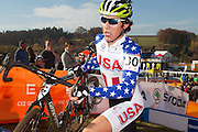 CZECH REPUBLIC / TABOR / WORLD CUP / CYCLING / WIELRENNEN / CYCLISME / CYCLOCROSS / VELDRIJDEN / WERELDBEKER / WORLD CUP / COUPE DU MONDE / #2 / CURTIS WHITE (USA) /