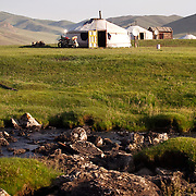 Travel to Mongolia which included horse trekking through the steppes near Kharkhorin and visiting families at a naadam festival in Khovd province.