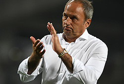 Darko Milanic, head coach of Maribor during football match between NK Maribor and NK Bravo in 7th Round of Prva liga Telekom Slovenije 2019/20, on August 25, 2019 in Ljudski vrt, Maribor, Slovenia. Photo by Milos Vujinovic / Sportida
