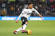 Derby County midfielder Duane Holmes during the EFL Sky Bet Championship match between Derby County and Millwall at the Pride Park, Derby, England on 20 February 2019.