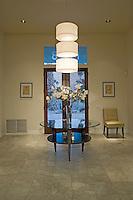 Luxury interior design hall