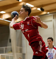 04.11.2016, SPORT. ZENTRUM Niederösterreich, St. Pölten, AUT, Invitational, Slowakei vs Serbien, im Bild Richard Modrovsky (SVK)// during the Invitational match between Slovakia and Serbia at the SPORT. ZENTRUM Niederösterreich, St. Pölten, Austria on 2016/11/04, EXPA Pictures © 2016, PhotoCredit: EXPA/ Sebastian Pucher