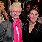 NLD/Amsterdam/20111011 - Premiere Razend, Carry Slee en partner Elles van den Berg