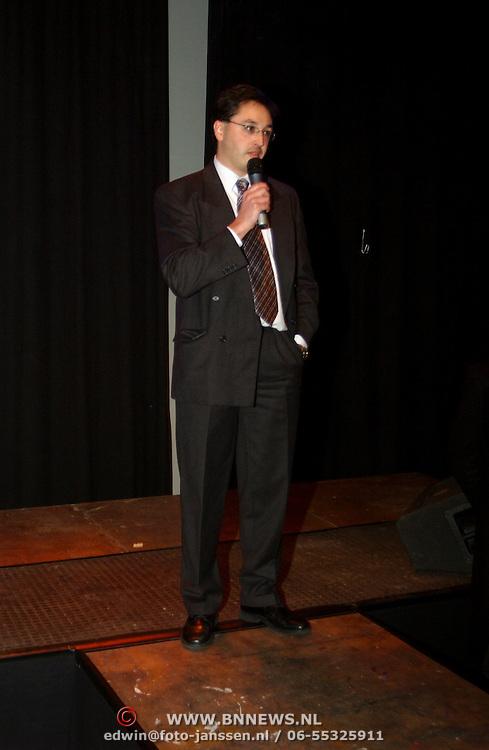 Presentatie boek Ruud Bernard, eigenaar Hotelbon