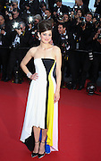 "Marion Cotillard  attends ""Blood Ties"" Red Carpet  during the 66th Annual Cannes Film Festival at the Palais des Festivals on May 20, 2013 in Cannes, France.."