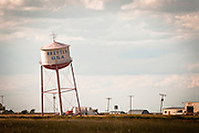 The tall water tank in Groom, Texas. Missoula Photographer