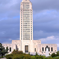 Louisiana State Capitol Building in Baton Rouge, Louisiana<br />