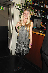 WILLOW CORBETT-WINDER at a leaving party for Poppy Delevigne who is going to New York to persue a career as an actress, held at Chloe, Cromwell Road, London on 25th January 2007.<br />