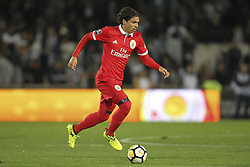 November 5, 2017 - Guimaraes, Guimaraes, Spain - Benfica's Croatian midfielder Filip Krovinovic during the Premier League 2017/18 match between Vitoria SC and SL Benfica, at Dao Afonso Henriques Stadium in Guimaraes on November 5, 2017. (Credit Image: © Dpi/NurPhoto via ZUMA Press)