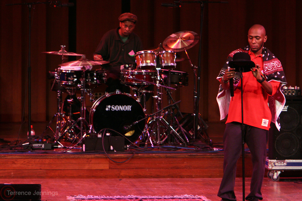 Mos Def at Mos Def Presents: The Amino Akaline-The Watermelon Syndicate Produced by Jill Newman at The John F. Kennedy Center for the Performing Arts on September 21, 2008 in Washington , DC