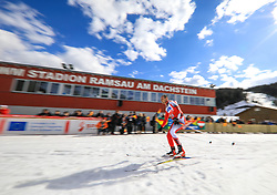 17.03.2017, Ramsau am Dachstein, AUT, Special Olympics 2017, Wintergames, Langlauf, Divisioning 5 km Freestyle, im Bild Wolfgang Leithner (AUT) // during the Cross Country Divisioning 5 km Freestyle at the Special Olympics World Winter Games Austria 2017 in Ramsau am Dachstein, Austria on 2017/03/17. EXPA Pictures © 2017, PhotoCredit: EXPA / Martin Huber