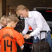 NLD/Noordwijk/20060829 - Nederlands Elftal komt bijeen voor de wedstrijd tegen Luxemburg, Dirk Kuyt
