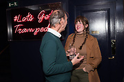 KEITH COVENTRY, PHILIPPA HORAN, The launch of HI-NOON a photography exhibition at Tramp, London. 29 October 2019
