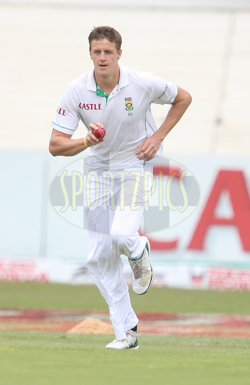Morne Morkel  during day 1 of the second test match between South Africa and India held at Kingsmead Stadium in Durban on Boxing Day, 26th December...Photo by Steve Haag/BCCI/SPORTZPICS