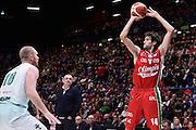 Pascolo Davide<br /> EA7 Emporio Armani Olimpia Milano - Sidigas Avellino<br /> LegaBasket 2016/2017<br /> Milano 09/10/2016<br /> Foto Ciamillo-Castoria