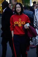 Paris - Sacai Street Style - 03 Oct 2016