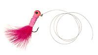 hot pink fishing lure