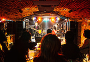 A band performs at Ohtsuka MEETS live house in  Tokyo, Japan. ..