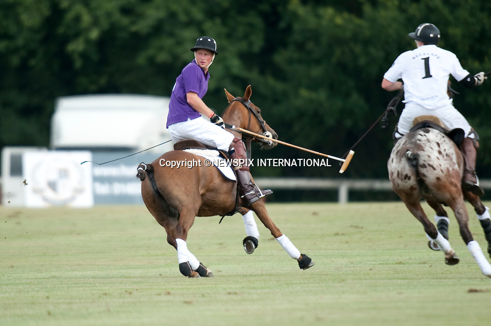 "Prince Harry.Plays in 2010 Asprey World Class Cup Polo, played at Kenny Jones'Hurtwood Park, Surrey_England_17/07/2010..Mandatory Photo Credit: ©Dias/Newspix International..**ALL FEES PAYABLE TO: ""NEWSPIX INTERNATIONAL""**..PHOTO CREDIT MANDATORY!!: NEWSPIX INTERNATIONAL(Failure to credit will incur a surcharge of 100% of reproduction fees)..IMMEDIATE CONFIRMATION OF USAGE REQUIRED:.Newspix International, 31 Chinnery Hill, Bishop's Stortford, ENGLAND CM23 3PS.Tel:+441279 324672  ; Fax: +441279656877.Mobile:  0777568 1153.e-mail: info@newspixinternational.co.uk"