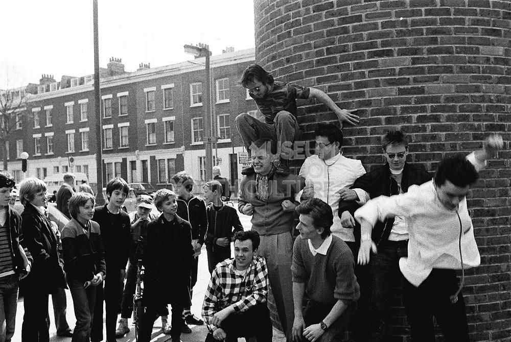 Madness and kids in Kilburn, London, 1982